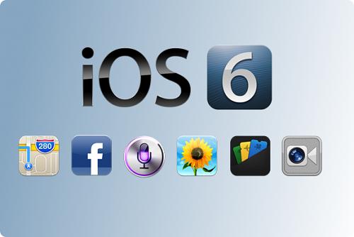 Những điều cần biết trước khi cập nhật iOS6